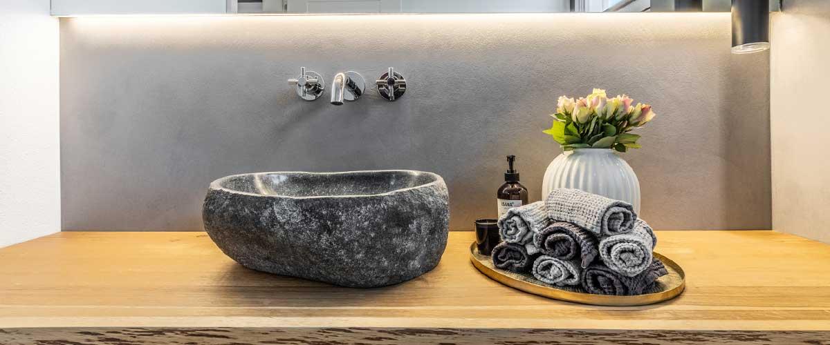 Fugenloses Bad – Fugenlose Küche